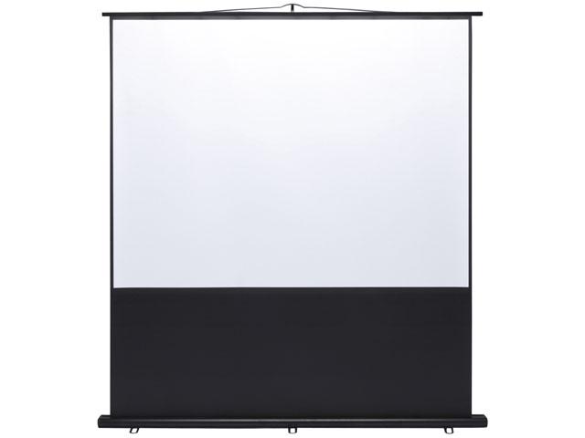 【1ヶ月レンタル】プロジェクタースクリーン(床置き式)80型 サンワサプライ PRS-Y80【プロジェクターレンタル】