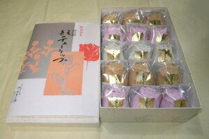 置県八拾周年記念菓子振興展覧会で名誉総裁賞を受賞。地元の人にはチューリップもなかと呼ばれ...