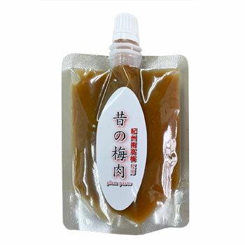 深見梅店:混ぜ物一切なし塩分22%梅肉「無添加 昔の梅肉パウチパック100g×4個」