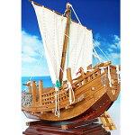 【送料無料】帆船模型夢住緑:「北前船」