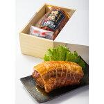 石川県名物能登豚「こだわりの焼豚1本入り」中出精肉店(クール冷蔵便)
