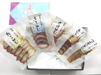 加賀ひかりフーズ「海鮮はむスライス 詰合せ(5種)」クール冷蔵便