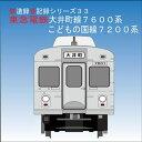 鉄道企画 「東急電鉄大井町線7600系・こどもの国線7200系」 懐かしい昭和の鉄道音CD