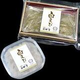 奥田屋:白えびお刺身2点ギフトセットギフト箱入(お刺身&おぼろ昆布締め)クール冷凍便