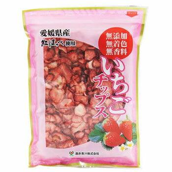 遠赤青汁:「いちごチップス 100g」 愛媛県産 紅ほっぺ使用