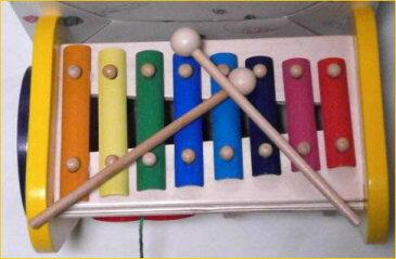 木のおもちゃ。木製トイ。森の音楽隊 ベストセラー。色々と遊べて知育にも役立つベビー用品出産祝いやギフトにもどうぞ【楽ギフ_のし宛書】【楽ギフ_メッセ入力】