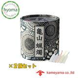 亀山五色蝋燭2個セット (カメヤマ/亀山/カメヤマローソク)亀山蝋燭・ロウソク・ろうそく・ローソク・プチギフト