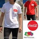復刻版 コカ・コーラ × FRUIT OF THE LOOM Tシャツ メンズ フルーツ オブ ザ ルーム 922-503CC10 【DAI】 ■05170420【170701s】