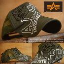 AlphaIndustries野球帽メッシュキャップメンズアルファ17898400-36キャップ帽子【GAL】■05171012
