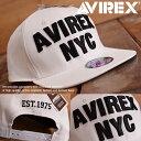 AVIREX アヴィレックス スナップバック キャップ 帽子 メンズ ...