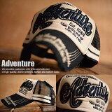 送料無料 Adventure メッシュキャップ 8683-943 キャップ メンズ 野球帽 帽子 刺繍 アメカジ 新品 GAZ 180608