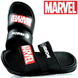 マーベル MARVEL サンダル メンズ 靴 シャワーサンダル ヴェノム VENOM ディズニー DISNEY アメコミ アベンジャーズ Y_KO 3008 ブラック/ブラック 黒 190710