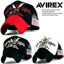 正規品AVIREXメッシュキャップキャップ帽子メンズ送料無料ブランドアヴィレックスアビレックス刺繍ロゴ1419H9300190724