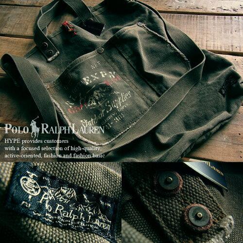 ポロ ラルフローレン バッグ 正規品2WAYバック メンズ 鞄 かばん4051542-49914 カーキRALPH LAUREN...