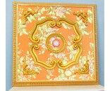 シーリングメダリオンアンテイーク送料無料バロックゴールドオレンジクラシックおしゃれロココ調ロマンチック姫インテリア