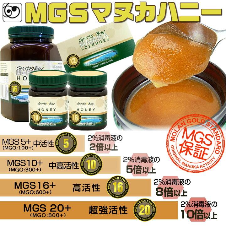 マヌカ ロゼンジ 12+ MGO400+ 実測保証 マヌカハニー・キャンディ 8粒入 MGS認証 正規品(ポスト配達便)