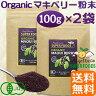 オーガニック マキベリー 有機JASマキベリ粉末100g お買得2袋セット【送料無料】