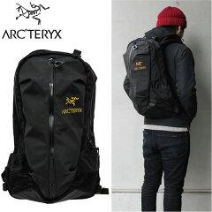 【送料無料】ARCTERYX/アークテリクスArro 22 アロー6029 BLACK/バックパック/リュックサック/デイ/カバン/鞄 メンズ/レディースブラック/黒