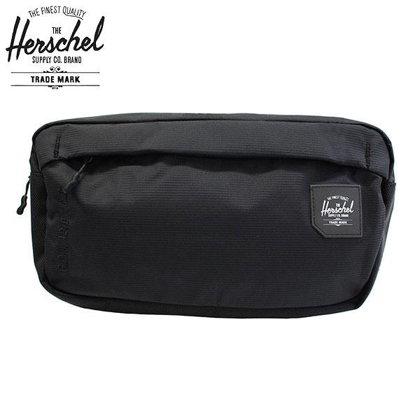 HERSCHEL SUPPLY ハーシェル サプライ Tour Hip Pack Medium ツアー ヒップパック ミディアム ボディバッグ ショルダーバッグ メンズ レディース A5 10L 10715ブラック プレゼント ギフト 通勤 通学