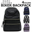 MARC JACOBS/マークジェイコブス BIKER BACKPACKリュックサック/バックパック/カバン/鞄 カジュアル レディース プレゼント/ギフト/通勤/通学/送料無料