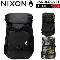 NIXON/ニクソンLANDLOCKIIランドロック2リュックサック/バックパックC1953カバン/鞄/バッグブラック/BLACKプレゼント/ギフト/通勤/通学/送料無料