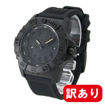 【訳あり】【アウトレット】【BOXなし】LUMINOX / ルミノックス 3501 Blackout ネイビーシールズ 3500シリーズ ブラックアウトNAVY SEAL 3500 SERIES メンズ ウォッチ 腕時計
