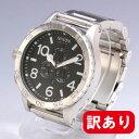 【訳あり】【傷あり】NIXON / ニクソンTHE 51-30 CHRONO / フィフティワンサーティ クロノA083000 BLACK / THE 51-30 CHRONO BLA 腕時計