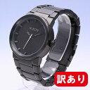【訳あり】【BOXなし】NIXON / ニクソンTHE CANNON / キャノンA160001 ALL BLACK / THE CANNON ALL BLA ブラック 腕時計