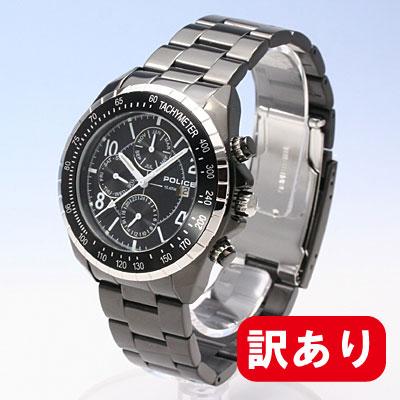 条件付きでMAX1,000OFFクーポン配布中!【訳あり】【アウトレット】【BOXなし】POLICE / ポリス PL.12777JSBS/02MA マルチファンクションモデル メンズ 腕時計