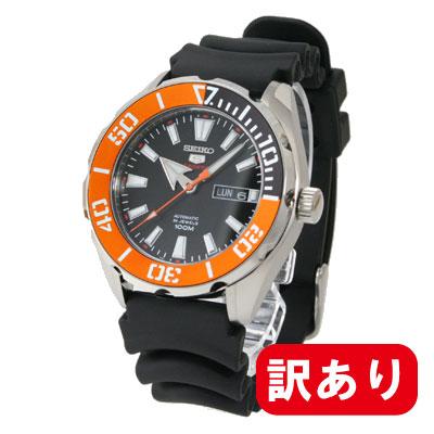 条件付きでMAX1,000OFFクーポン配布中!訳あり】【アウトレット】【BOXなし】セイコー5 スポーツ 自動巻 機械式 SRPC59K メンズ SEIKO セイコーウォッチラバーベルト 腕時計