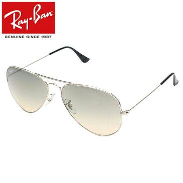 Ray-Ban/Rayban/レイバン サングラス/メンズ/レディースRB3025 003/32 58/AVIATOR/アビエーター/ティアドロップ/シルバー プレゼント/ギフト/通勤/通学