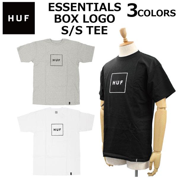 トップス, Tシャツ・カットソー 714 9:59 HUF ESSENTIALS BOX LOGO SS TEE T TS00507