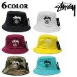 STUSSY/ステューシー STOCK LOCK BUCKET HAT/132651バケットハット/サファリハット/帽子 メンズ/レディース プレゼント/ギフト/通勤/通学