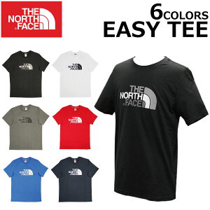 THE NORTH FACE ザ ノースフェイス EASY TEE イージー ティーTシャツ カットソー 半袖 ロゴ プリント メンズプレゼント ギフト 父の日 通勤 通学