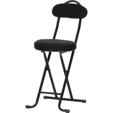 【パイプイス】 パイプ折りたたみイス メッシュスリムチェアー ブラック 椅子 スツール 腰掛け 会議 オフィス ダイニングチェアー メッシュ【02P29Jul16】