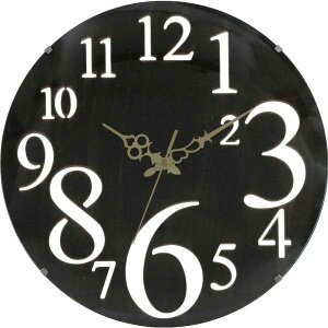 アンティーク 掛け時計 ウォールクロック 掛け時計 時計 クロック レトロ ブラック おしゃれな ...