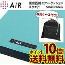 西川エアー クッション air ポータブル エアーポータブル air ポータブル エアーポータブル クッション スクエア ポイント10倍