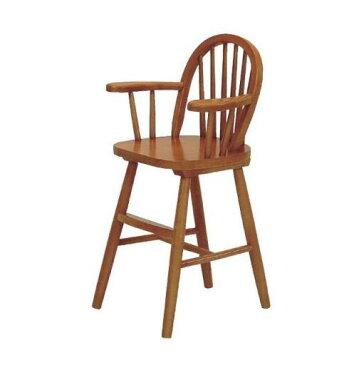 キッズチェアもおしゃれに 木製ウインザ-ベビ-チェア- ライトブラウン 子供 赤ちゃん用椅子 ハイチェア 05P03Sep16