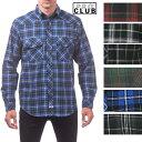 【151】PRO CLUB (プロクラブ) 【3XL〜7XL】Men's L/S Flannel Button Shirt【全5色】【フラネルシャツ]チェック柄 L/Sシャツ PROCLUB 長袖(ロングスリーブ) ボタンシャツ 大きいサイズ メンズ ネルシャツ ストリート系 ヒップホップ 作業着LL 2L 3L 4L 5L