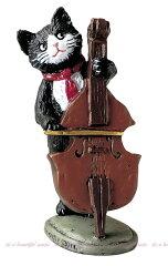 【its】「猫のオーケストラをつくっちゃおう!」楽団オーメント(コントラバス) SCZ1323