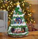 【全国一律送料無料】ディズニー クリスマスツリー DISNEY 動く 光る クリスマスツリー【音楽付】【動画あり】【クリスマス】イルミネーション 飾り 装飾品 ツリー オブジェ ミッキーマウス おしゃれ 小型 【高さ約45cm】【Costco コストコ】