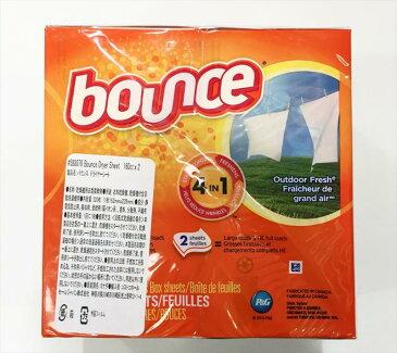 バウンス 乾燥機用柔軟剤シート 160枚入り×2