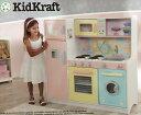 期間限定割引【送料無料】キッドクラフト KIDKRAFT デラックスキッチンセット おままごと 大型キッチン【組立式】