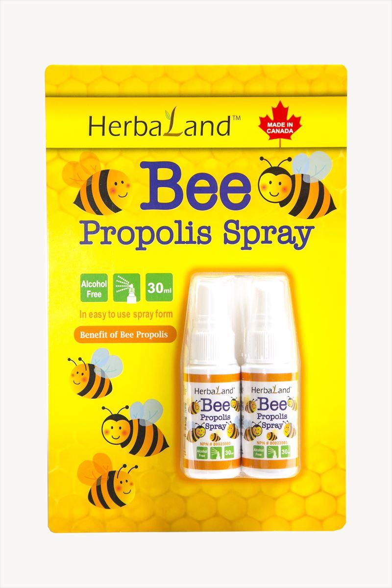 サプリメント, プロポリス HerbaLand 30ml 2 propolis spray