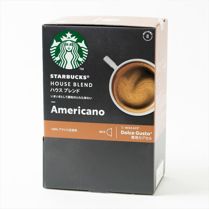 コーヒー, カプセルコーヒー  STARBUCKS 60Dolce Gusto NESCAFE80