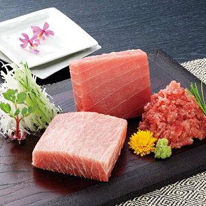 【送料無料】三崎恵水産 本マグロ詰合せ【楽ギフ_のし】