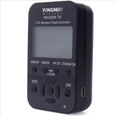 YN-622N-TX or YN-622C-TX液晶無線I-TTLフラッシュ コントローラの...