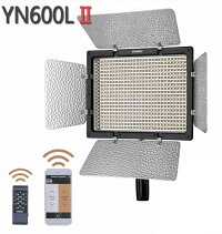 YONGNUOYN-168ビデオライト168球LED4色フィルタープレート自動調光コンデンサー式ステレオマイク内蔵