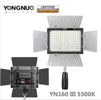 YONGNUO160球カメラLEDライト[BG021]