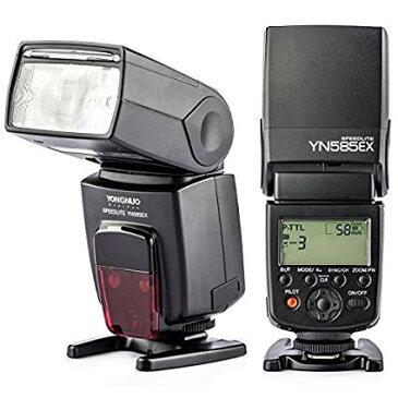 【正規品 純正品 3ヶ月保証】 YONGNUO YN 585EX-P スピードライト ストロボ フラッシュ TTL PENTAX K5 K50 K-1 K3 K30 デジタル 一眼レフカメラ対応 ゆうパック発送のみ